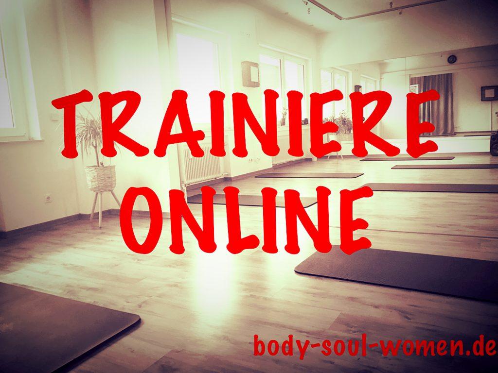 Trainiere ONLINE